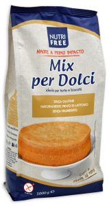 Nutrifree Mix per Dolci 1 Kg.