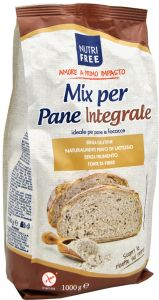 Nutrifree Whole Grain Bread Mix Gluten Free 1 Kg.