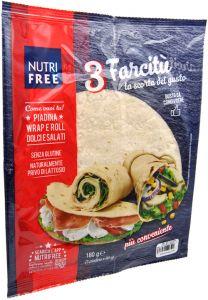 Nutrifree Farcitù Piadina Gluten Free 3 X 60 g.
