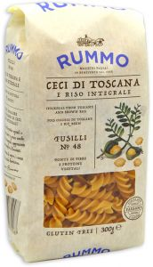 Rummo Wholegrain Rice and Chickpeas Fusilli n°48 300 g.