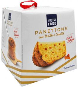 Nutrifree Raisin and Candied Fruit Panettone 600 g.