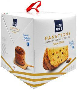 Nutrifree Candied Orange and Chocolate Panettone 600 g.